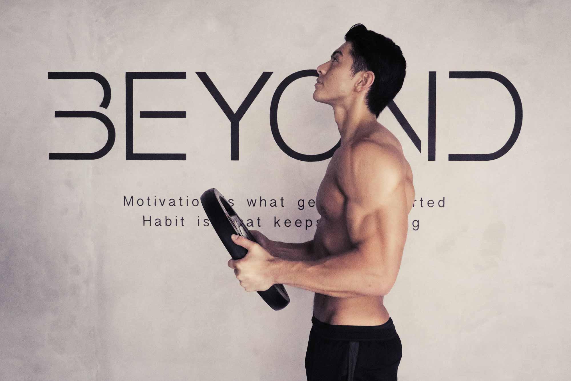 BEYOND エドワード トレーニング